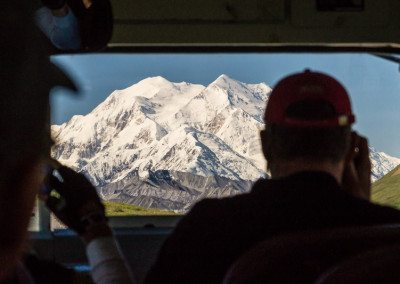 Mt McKinley from bus.