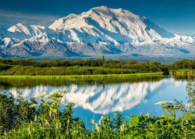 Mount McKinley reflection