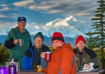 Coffee with Mount McKinley